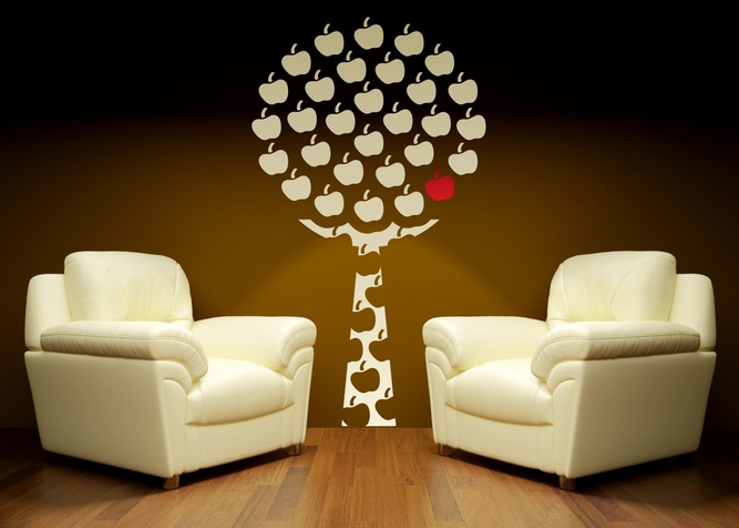 01. VINILO DECORATIVO APPLE TREE