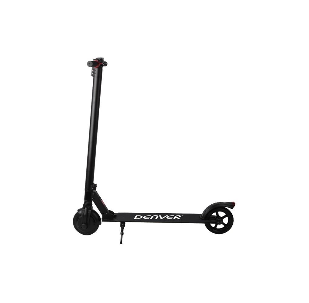 """Scooter patinete electrico denver sco-65210 negro aluminio ruedas 6.5"""""""