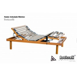 SOMIER ELECTRICO MADERA