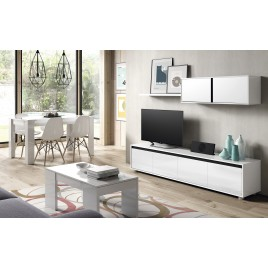 Mueble de TV para Salón color Blanco brillo de ALIDA