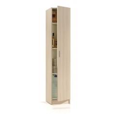 Armario con 1 puerta tono roble de USE