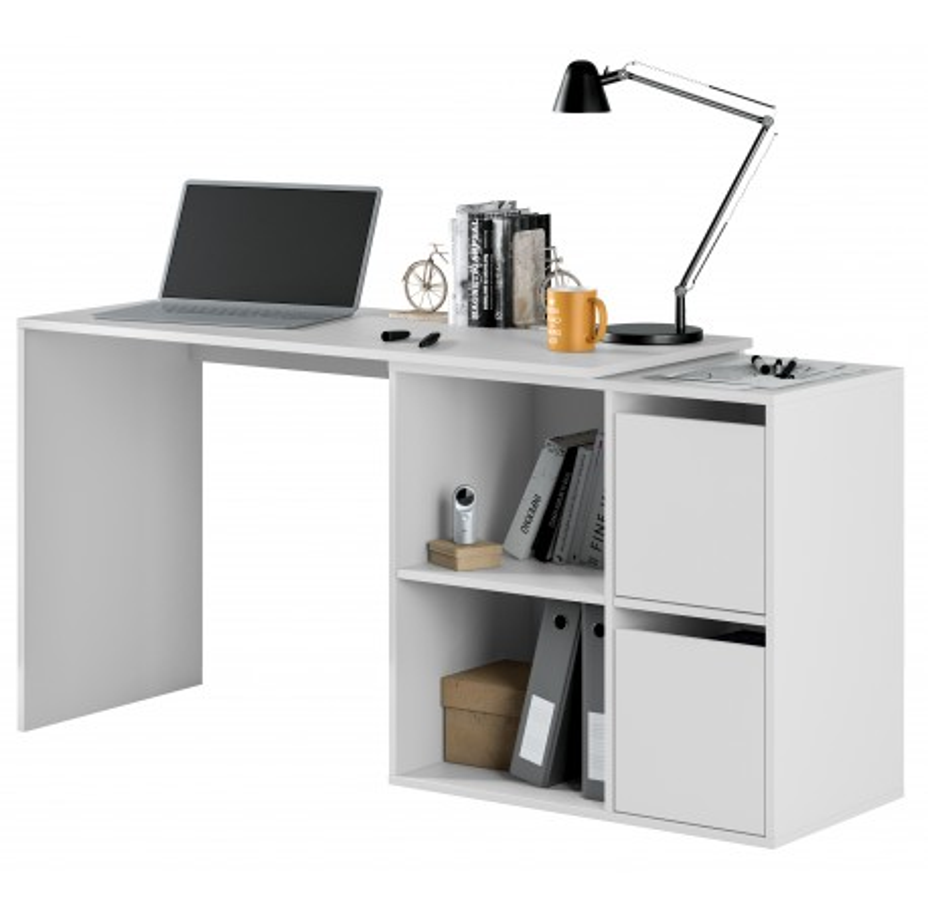 Mesa escritorio multiposición blanco artik de GIO
