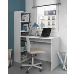 Mesa escritorio reversible con estantería de GIO PLUS