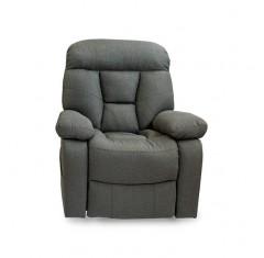 Sillón Relax Otto tela gris
