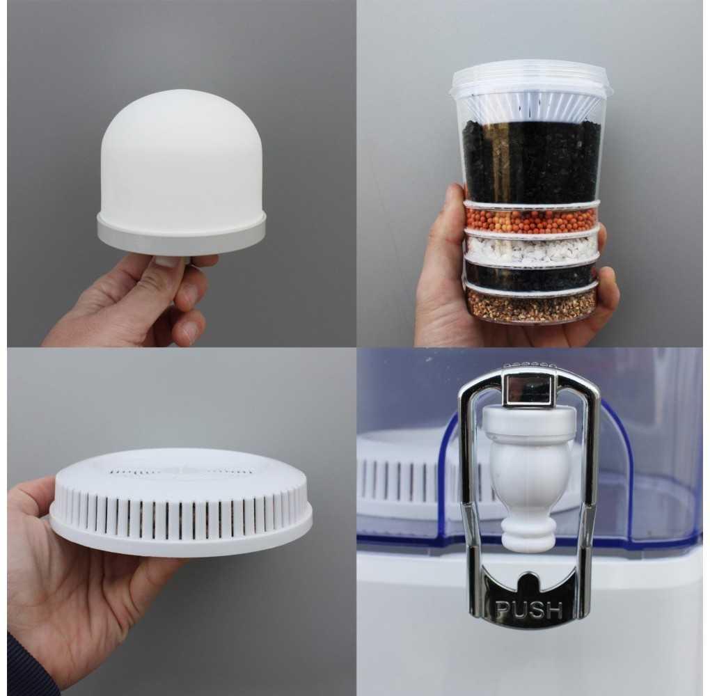 Recambio filtros Aqua Filter Tower pack 3