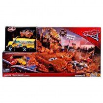 Pista Coches Locos Cars 3 Disney