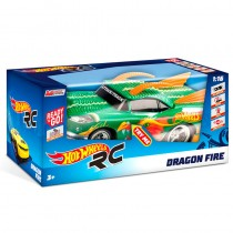 Coche Dragon Fire Hot Wheels radio control