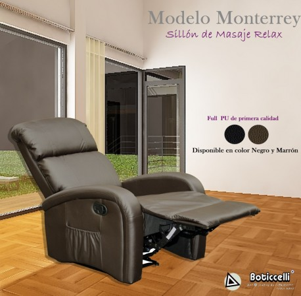 Sillón masaje Monterrey FULL PU