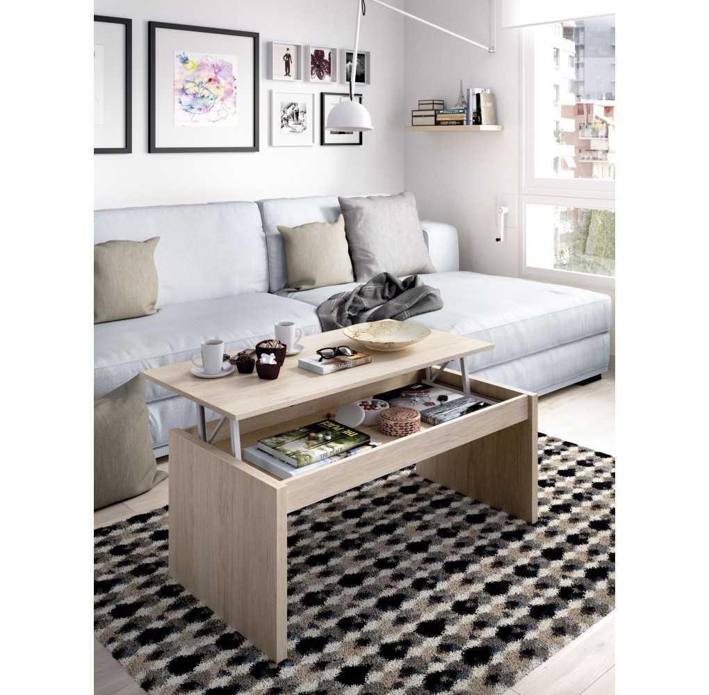 Mesa de Centro Mueble Modelo Side Natural
