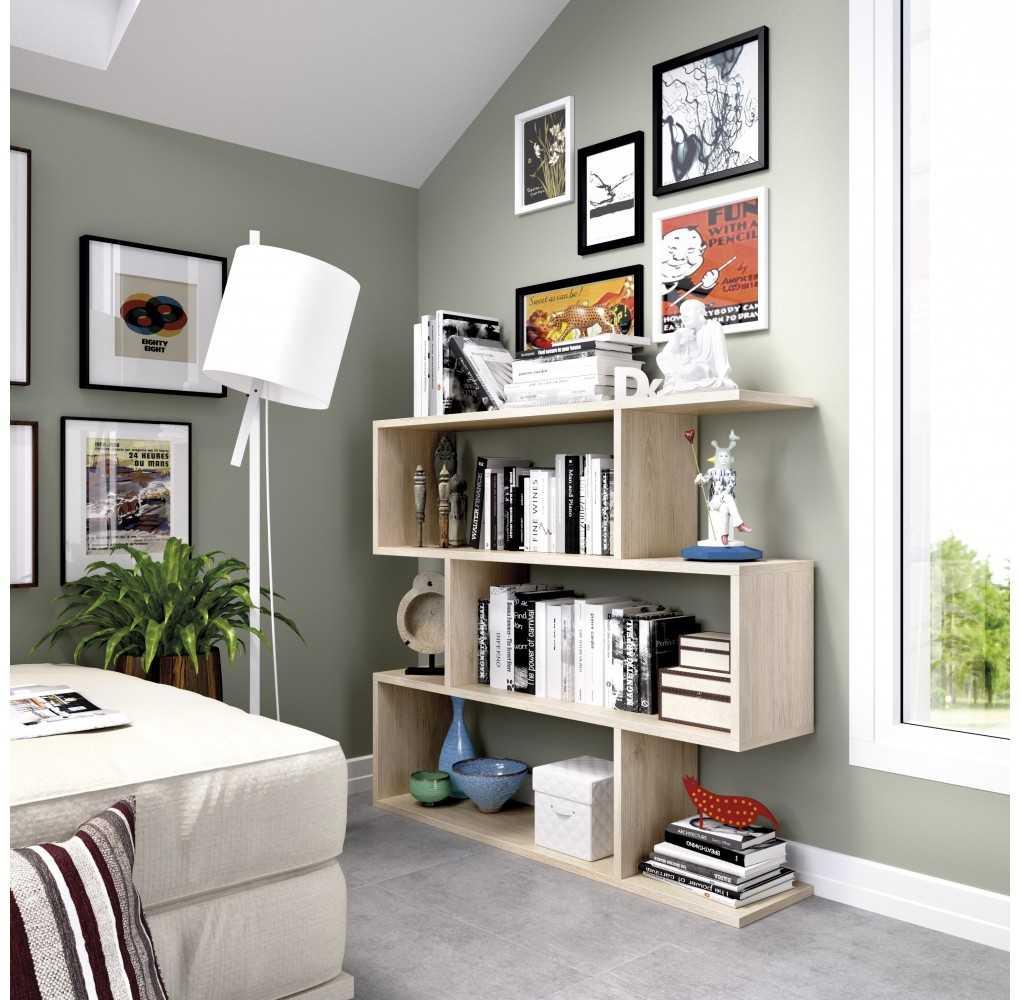 Mueble de Estantería Baja Modelo Lis Natural