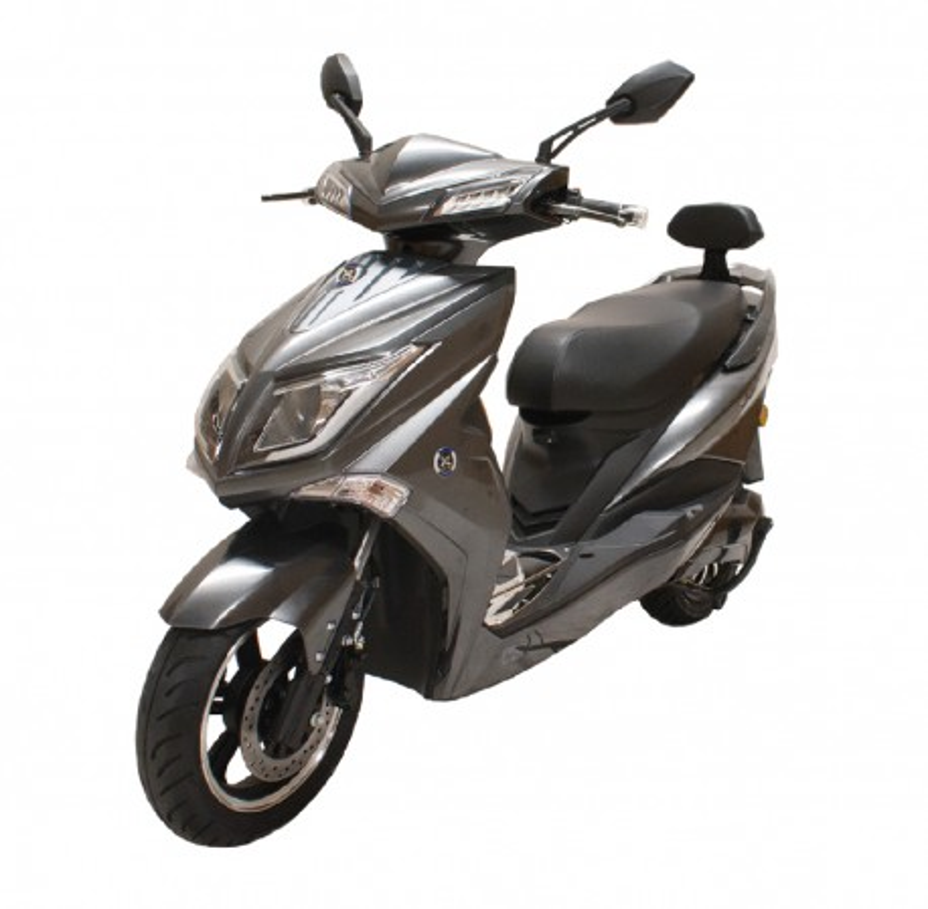 Moto Eléctrica Sunra Hawk 49E 1800W/40AH Gris Brillo (Doble Batería)