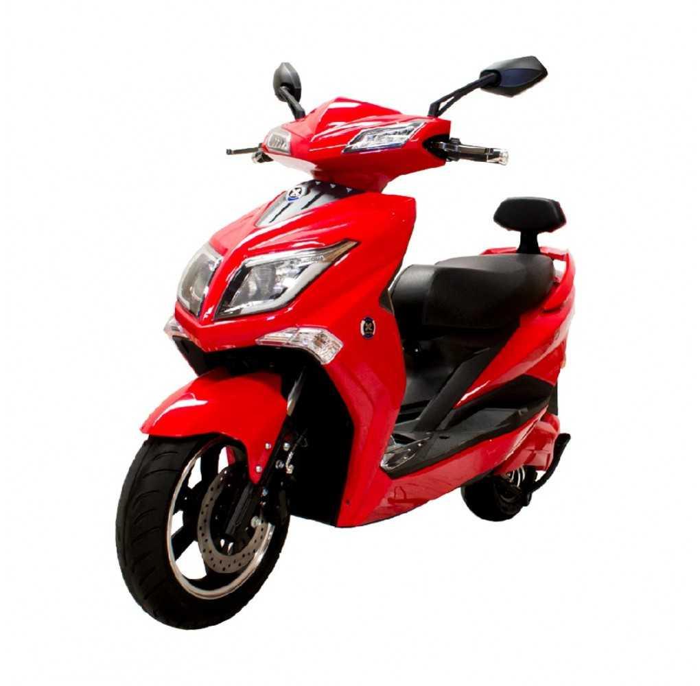 Moto Eléctrica Sunra Hawk 49E 1800W/40AH Rojo Brillo (Doble Batería)