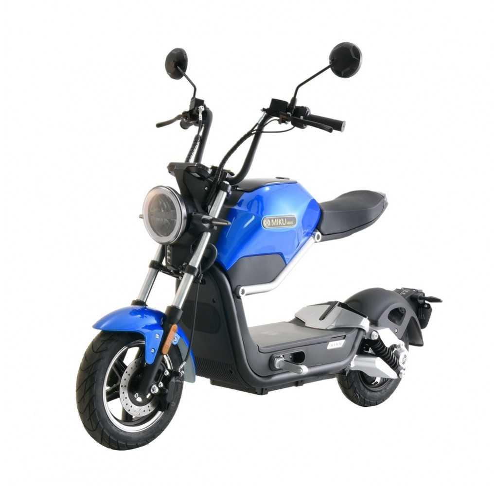 Moto Eléctrica Sunra Miku Max 49E EDICIÓN LIMITADA Motor Bosch 20AH Azul