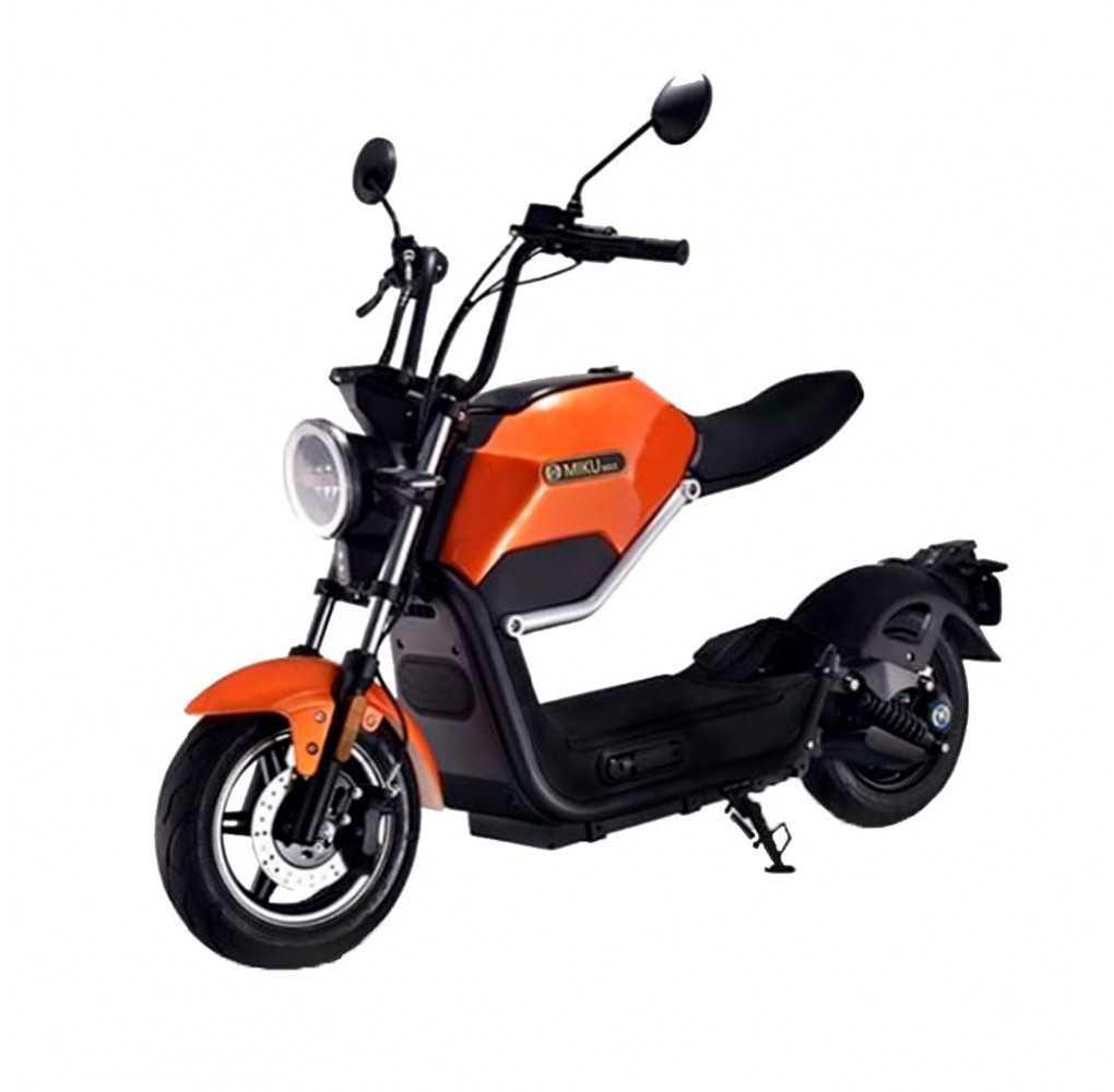 Moto Eléctrica Sunra Miku Max 49E EDICIÓN LIMITADA Motor Bosch 20AH Naranja