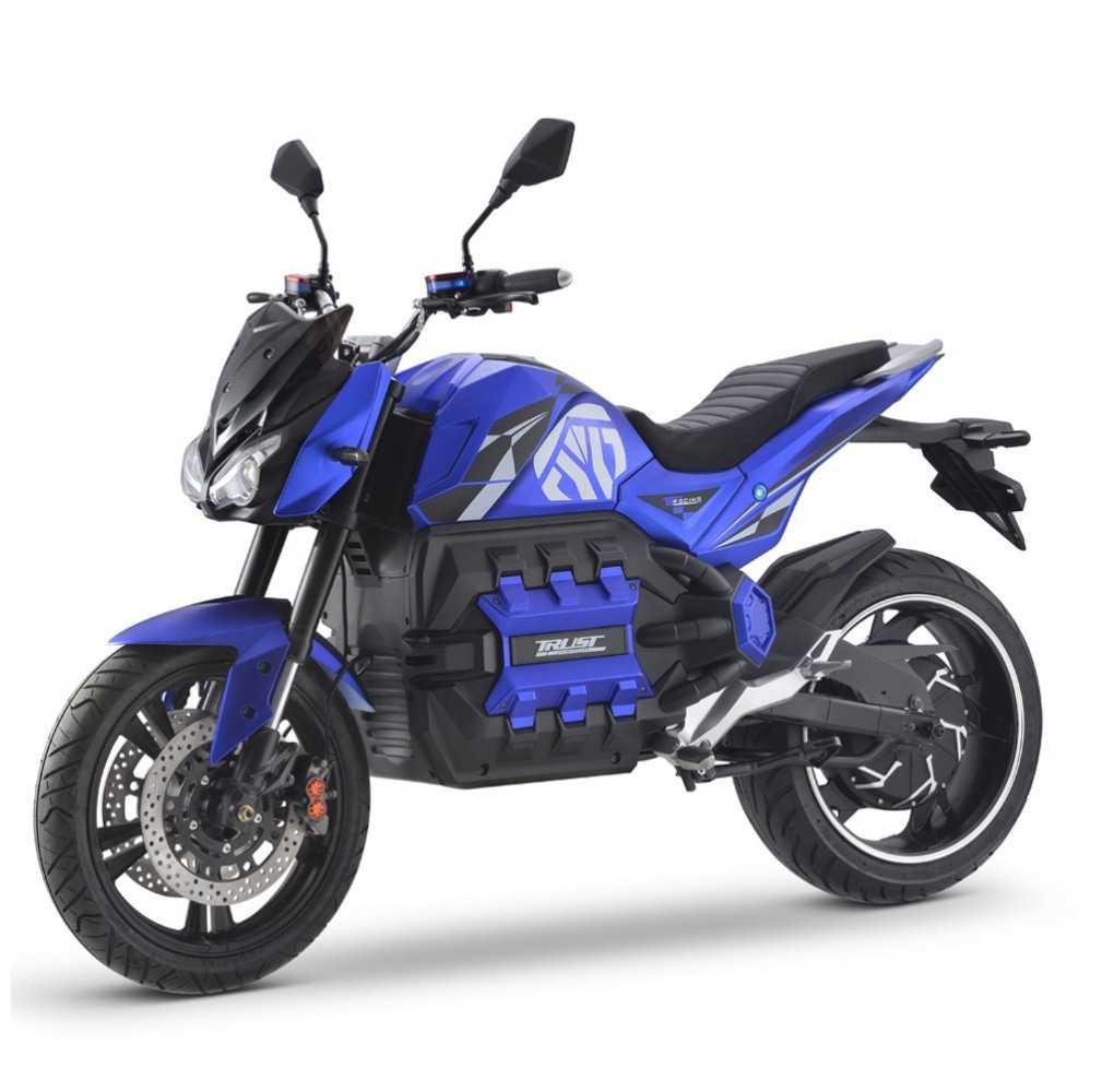 Moto Eléctrica E-Odín 125E 6000W/100AH Azul