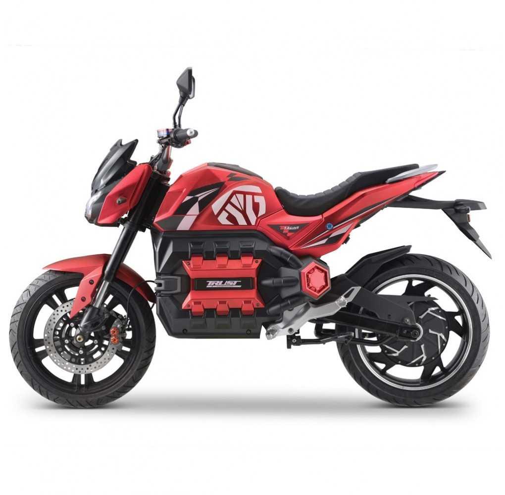 Moto Eléctrica E-Odín 125E 6000W/100AH Rojo