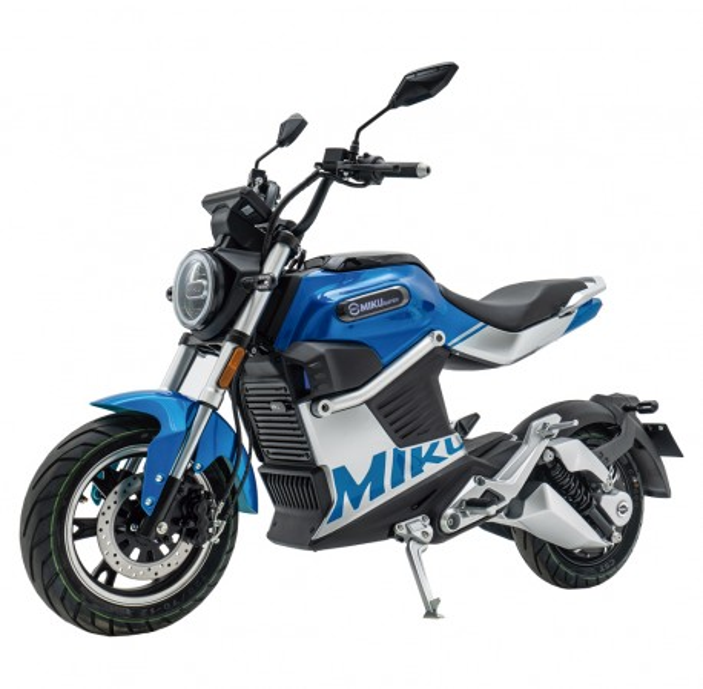 Moto Eléctrica Sunra Miku Super 125E 3000W/40AH Azul (Doble Batería)
