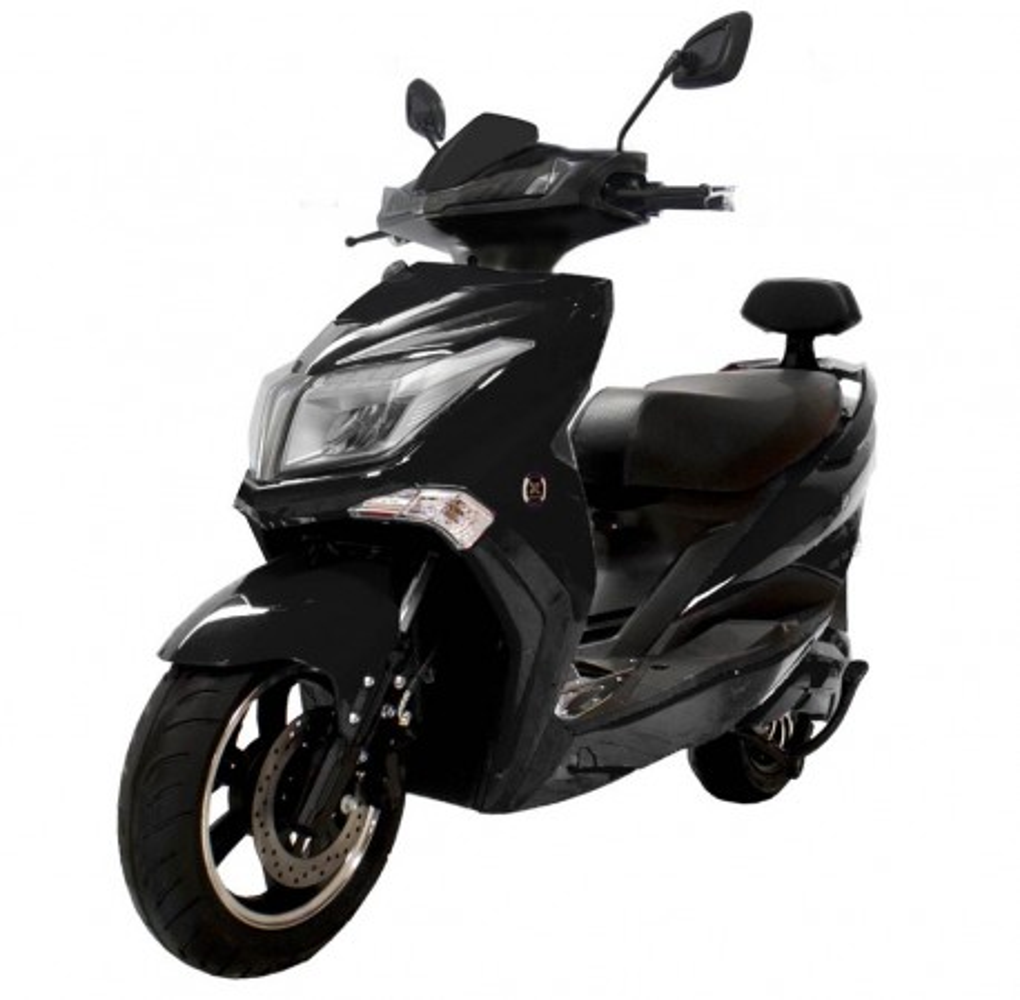 Moto Eléctrica Sunra Anger 125E 3000W/40AH Negro (Doble Batería)
