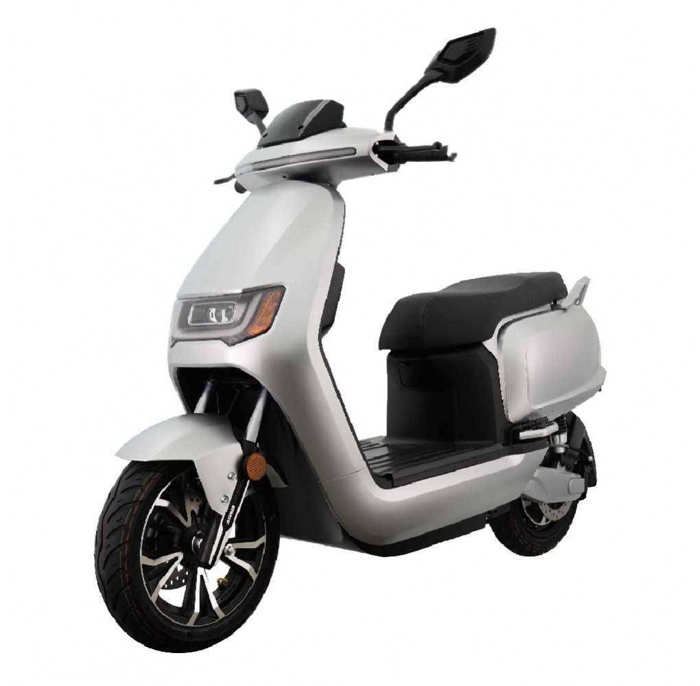 Moto Eléctrica Sunra RS 125E 3000W/40AH Blanca (Doble Batería)