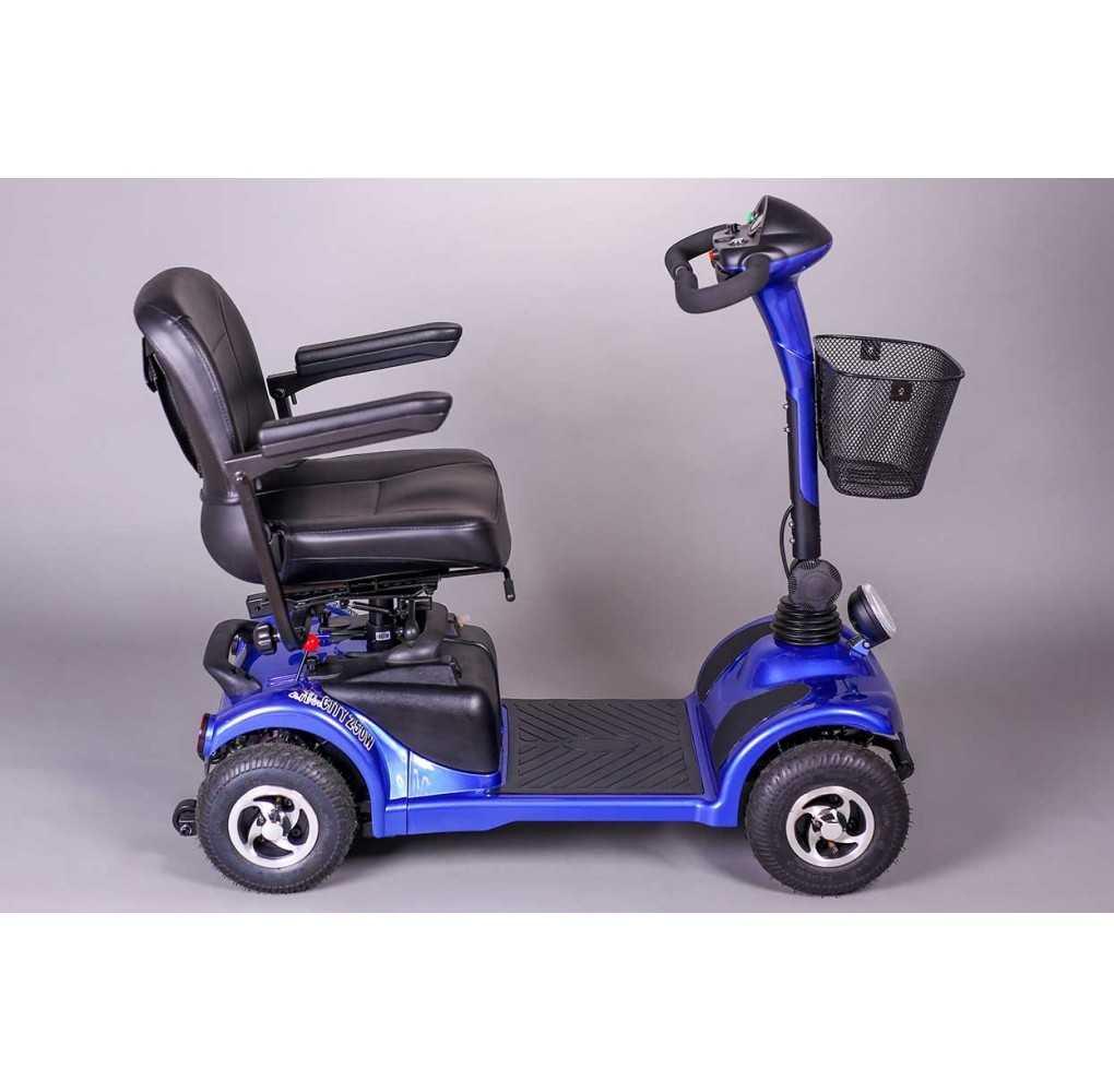 Scooter Movilidad Reducida City 250W/76,8AH Azul