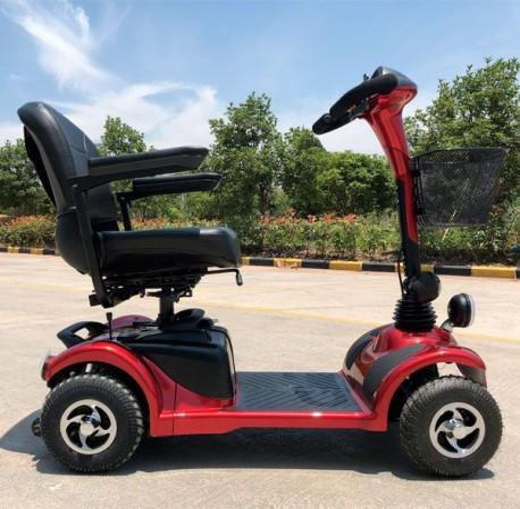 Scooter Movilidad Reducida City 250W/38,4AH Rojo