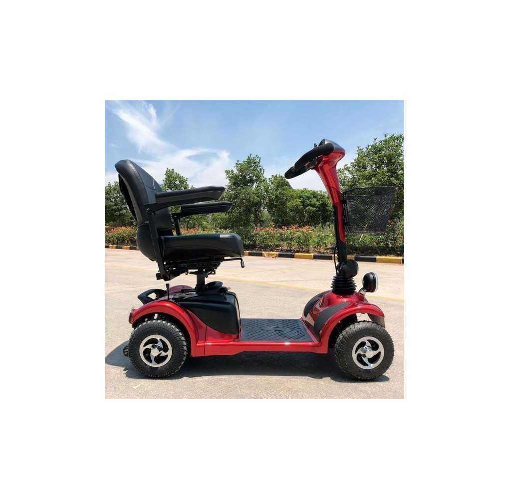 Scooter Movilidad Reducida City 250W/76,8AH Rojo