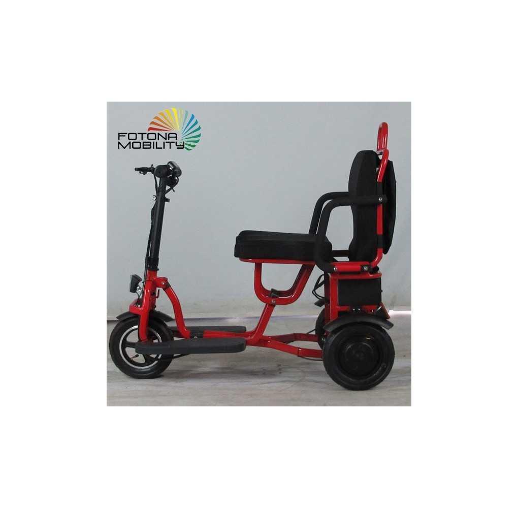Scooter Movilidad Reducida Lightest 350W/12,8AH Rojo