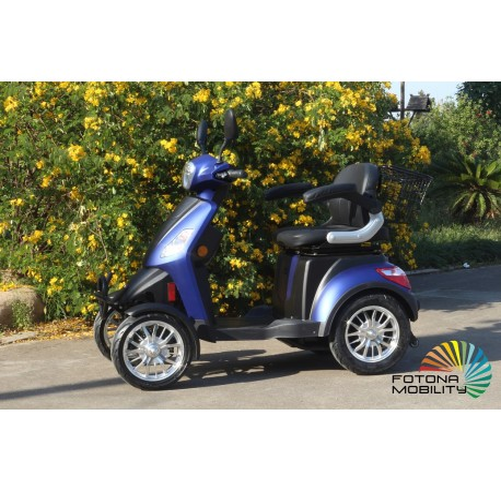 Moto Movilidad Reducida 800W/51,2AH Azul