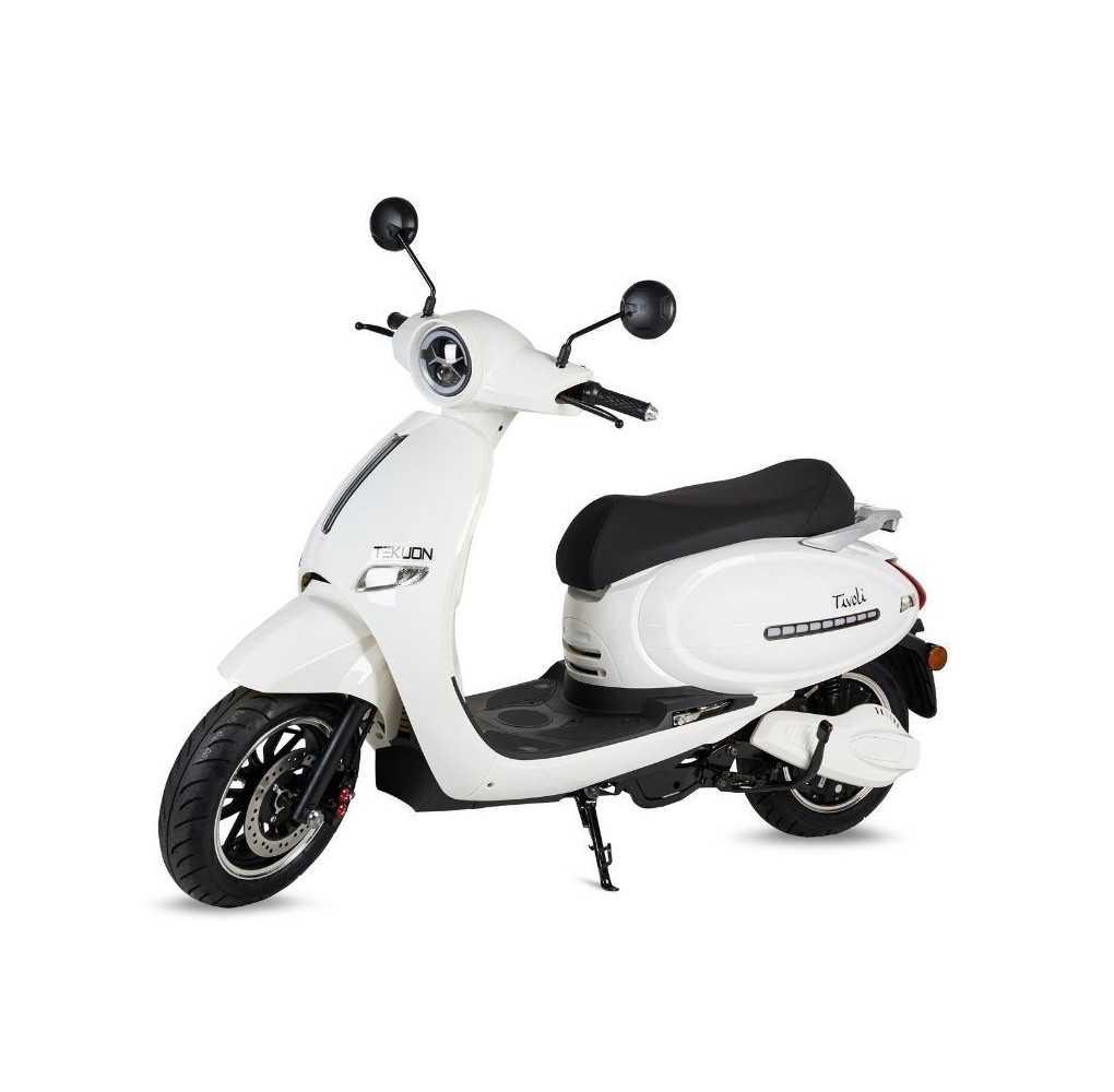 Moto Eléctrica Tivoli 1500W/30AH Blanco