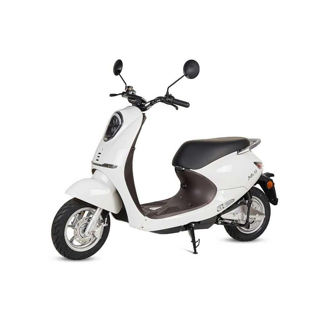 Moto Eléctrica Bella XS 1200W/20AH Blanco