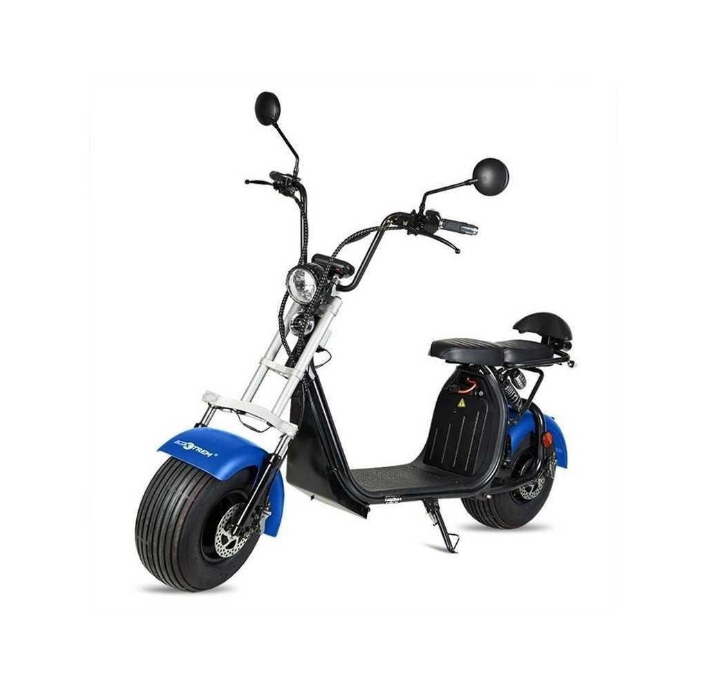 Moto Eléctrica Maverick II Citycoco 1500W/20AH Azul