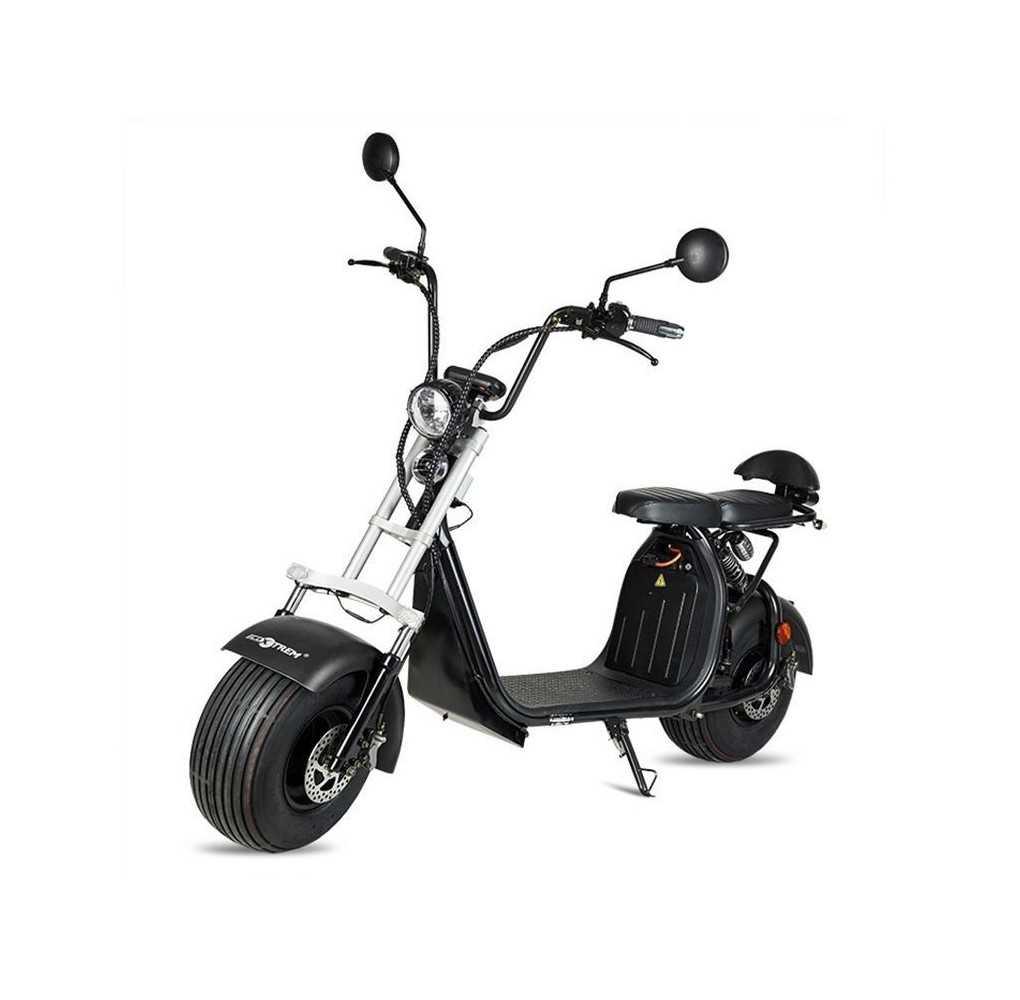 Moto Eléctrica Maverick II Citycoco 1500W/20AH Negro