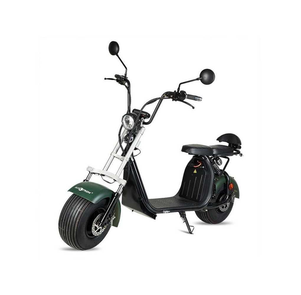 Moto Eléctrica Maverick II Citycoco 1500W/20AH Verde