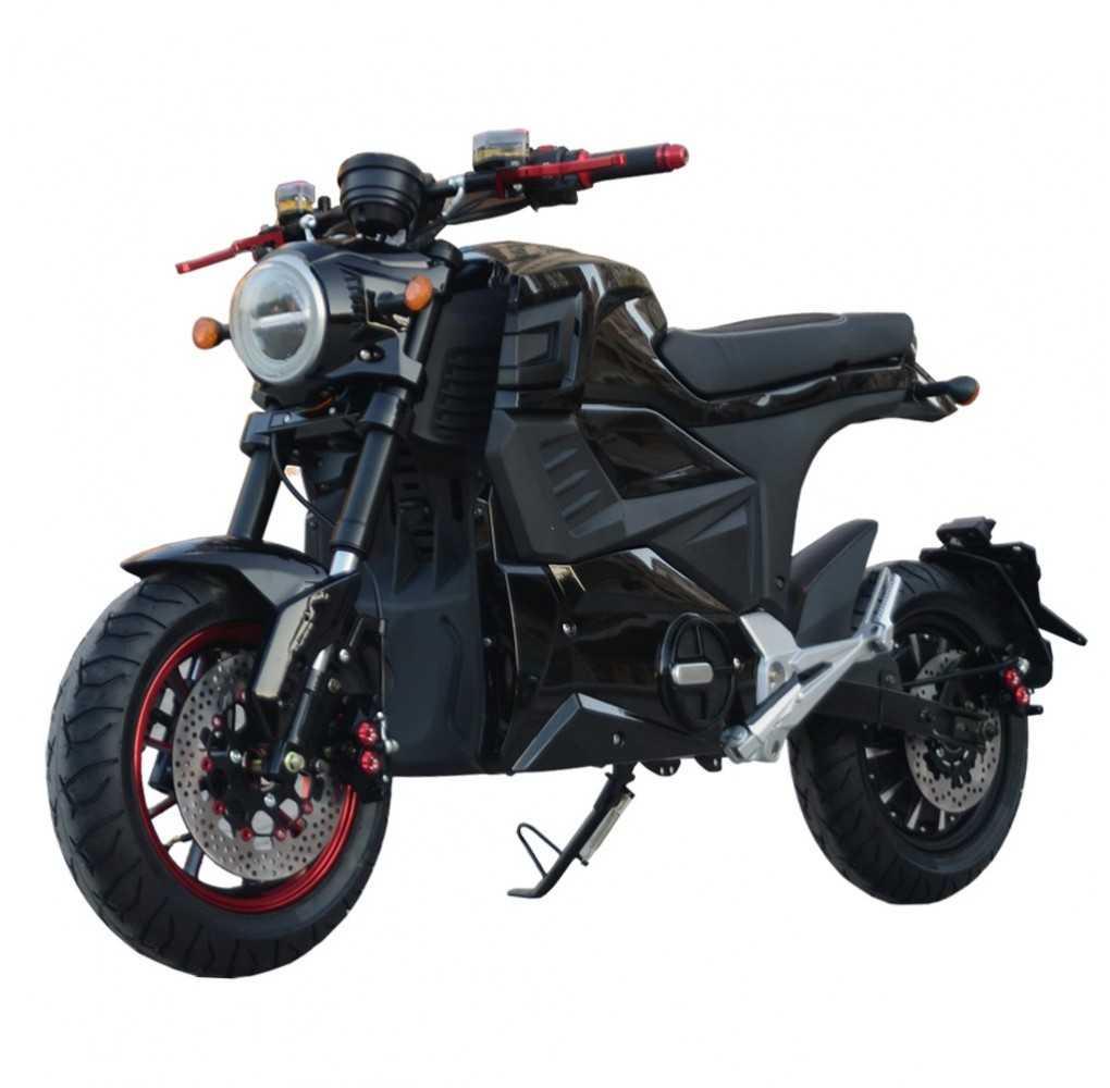 Moto Eléctrica Zitmuv Black Razer 125E 4000W/50AH Negro