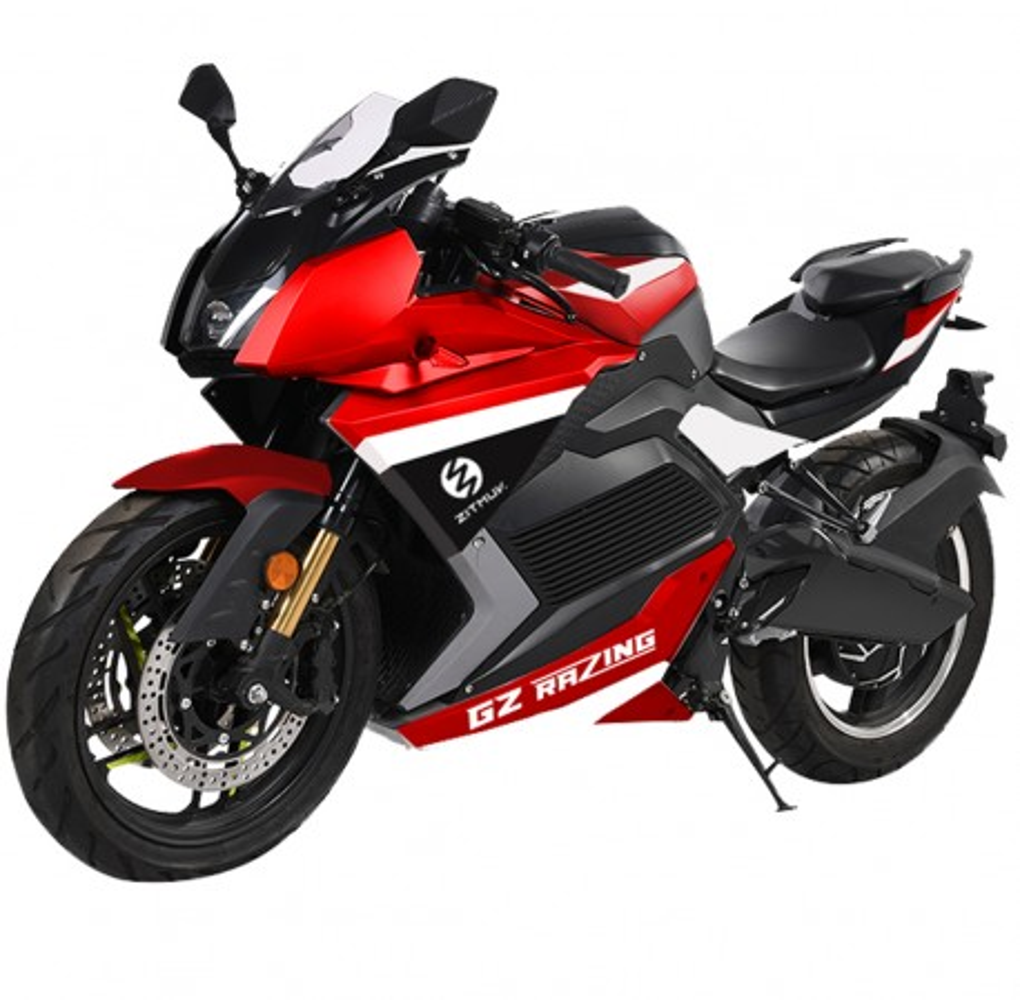 Moto Eléctrica Zitmuv GZ Razing 125E 5000W/75AH Rojo y Negro