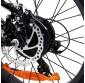 Bicicleta Eléctrica con Ruedas Gruesas Kenda 250W/9AH Blanco