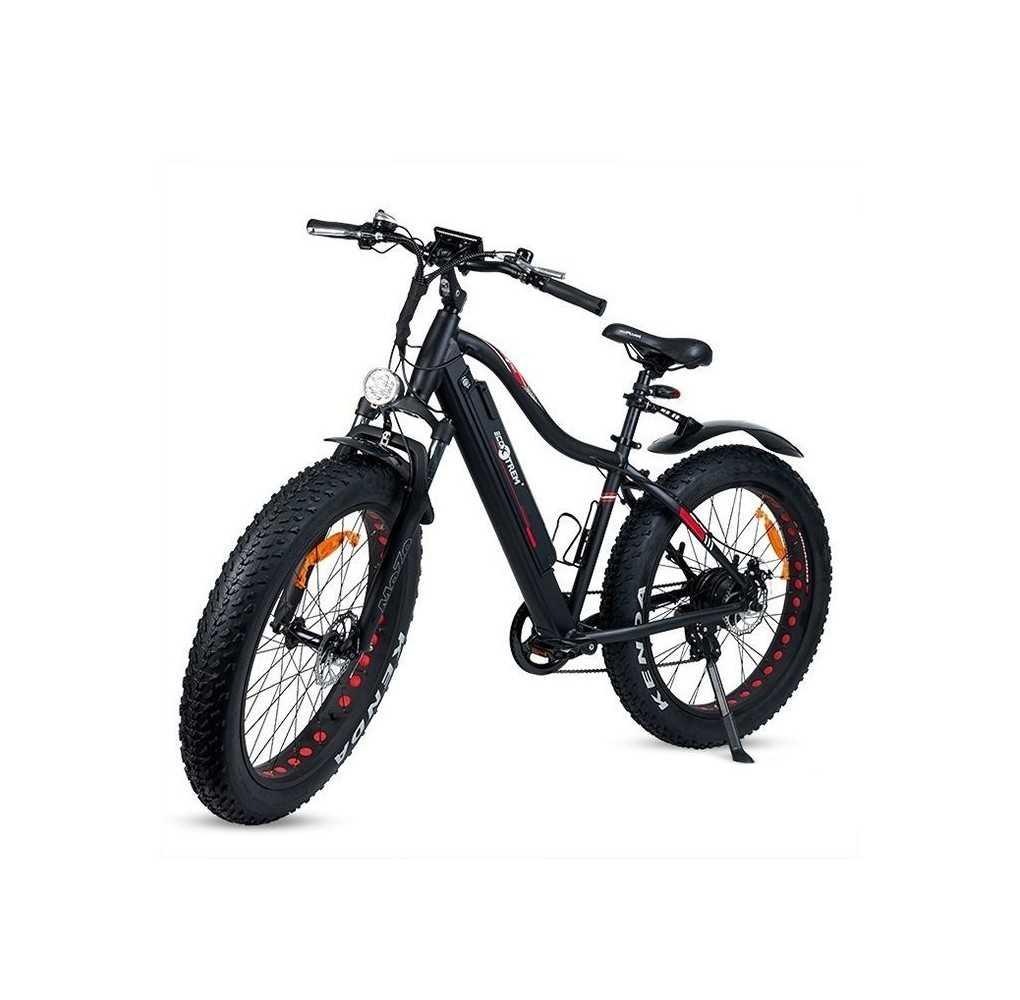Bicicleta Eléctrica XL con Ruedas Gruesas 350W/10AH Negro