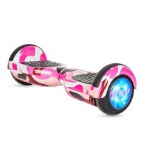 """Hoverboard 6.5"""" con Bluetooth y Luces LED Rosa"""