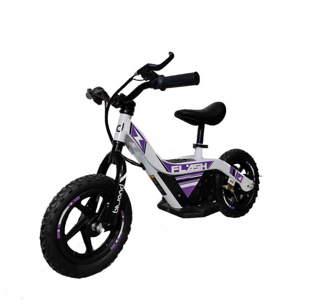 Bicicleta Eléctrica Flash Biwond 100W/2AH Blanco
