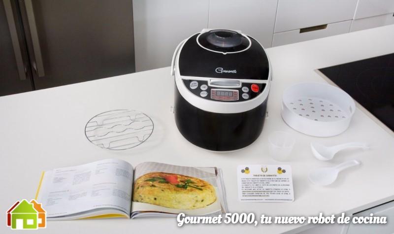 Robot de cocina gourmet 5000 for Cual es el mejor robot de cocina