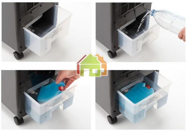 Así funciona el depósito del climatizador Joal