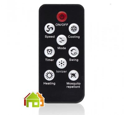 El mando del climatizador digital Joal